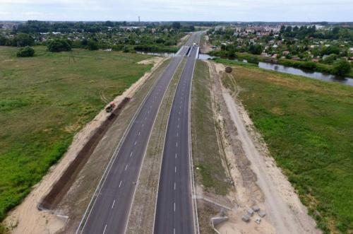 Kierowcy pojechali nowym odcinkiem obwodnicy Kołobrzegu