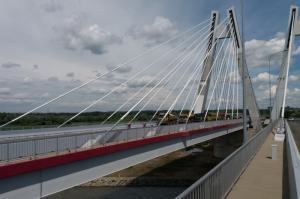 Budowa S7: Most na Wiśle w Krakowie przeszedł próbę obciążeniową