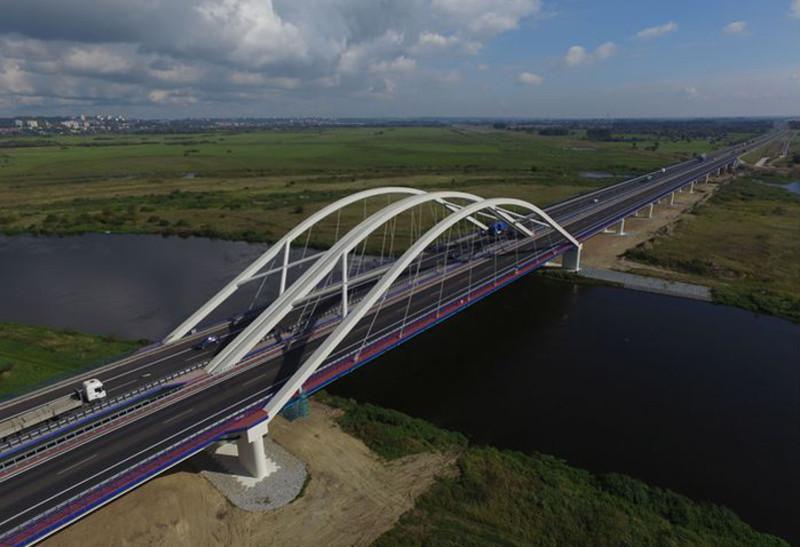 Most przez Wartę w ciągu obwodnicy Gorzowa Wlkp. - droga ekspresowa S3
