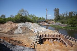 Wrocław: W ciągu obwodnicy Leśnicy powstaje most przez Bystrzycę