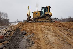 Opolskie: Pomimo zimy, idą prace na obwodnicy Myśliny