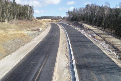 Dobiega końca budowa obwodnicy Olsztyna w ciagu DK16, opóźnienie na S51