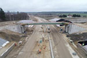 Do kwietnia potrwa budowa S51 - obwodnicy Olsztyna