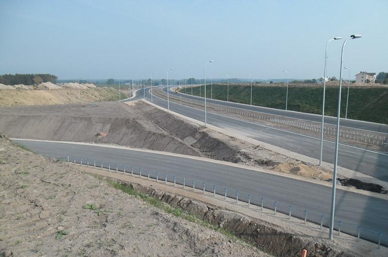 S61: Piątka startuje do budowy drugiej jezdni obwodnicy Szczuczyna