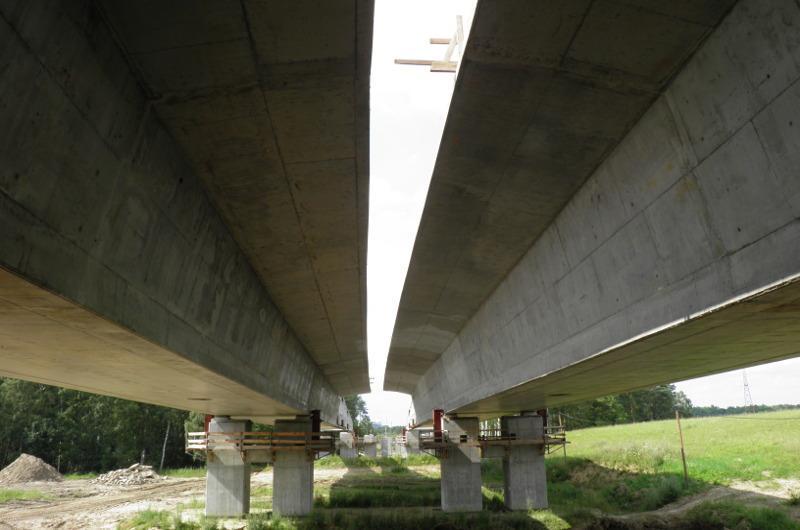 Budowa mostu w ciągu drogi ekspresowej S10 - obwodnicy Wałcza