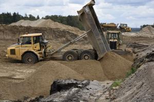 Nowy węzeł drogowy Olsztyn Zachód na początku 2019 r.