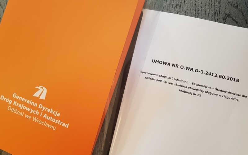 Trzy lata na opracowanie dokumentacji dla budowy obwodnicy Głogowa