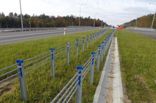 Budowa obwodnicy Ostródy w ciągu drogi ekspresowej S7. Listopad 2016 r.