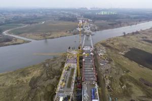 Budowa S7 – obwodnica Krakowa: Węzeł Rybitwy częściowo dopuszczony do ruchu