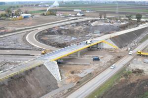 Budowa obwodnicy Inowrocławia: Kolejny wiadukt oddany
