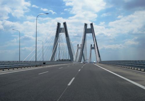 Obwodnica Krakowa: Droga S7 z nowym mostem przez Wisłe przed otwarciem