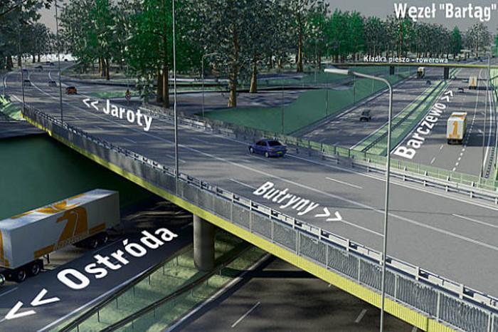 Południowa obwodnica Olsztyna w ciągu S51 i DK16