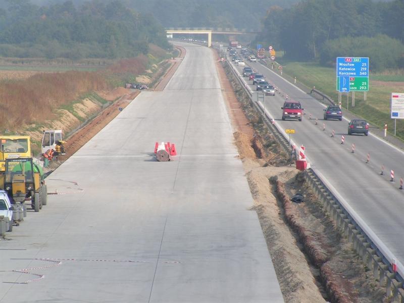 Przebudowa autostrady A4 Wrocław - Krzyżowa