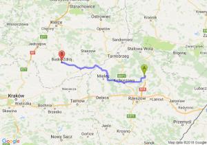 Trasa Kamień - Busko-Zdrój