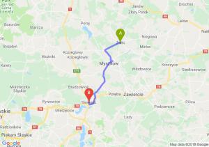 Trasa Żarki - Siewierz