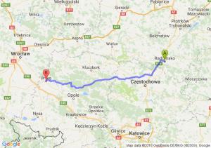 Trasa Radomsko - Brzeg