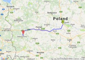 Trasa Brześć Kujawski - Sulechów