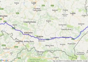 Dzierżoniów (dolnośląskie) - Hrubieszów (lubelskie)
