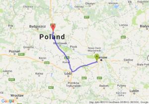 Trasa Pruszków - Lubicz Dolny