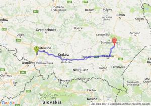 Trasa Czerwionka-Leszczyny - Kopki