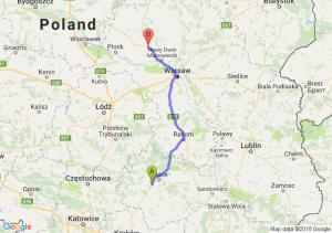 Trasa Chęciny - Siedlin