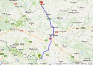 Nowa Ruda (dolnośląskie) - Leszno (wielkopolskie)