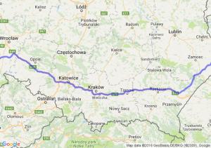 Bielawa (dolnośląskie) - Hrubieszów (lubelskie)