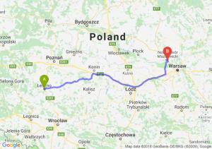 Trasa Leszno - Kazuń Nowy