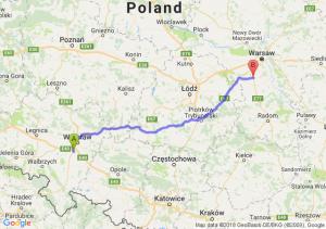 Trasa Magnice - Tarczyn