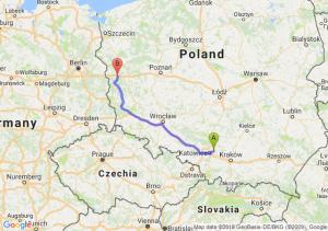 Trasa Dąbrowa Górnicza - Torzym