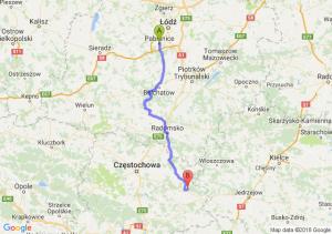 Trasa Pabianice - Lelów