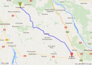 Gniewkowo (kujawsko-pomorskie) - Brześć Kujawski (kujawsko-pomorskie)