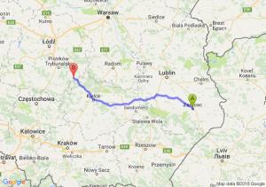 Trasa Zamość - Żarnów