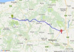 Połczyn-Zdrój (zachodniopomorskie) - Chełmno (kujawsko-pomorskie)