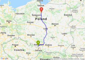 Trasa Racibórz - Grudziądz