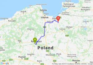 Trasa Białe Błota - Pasłęk