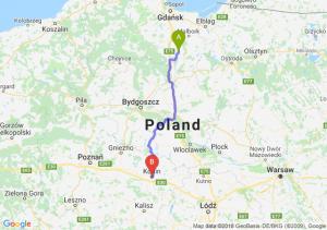 Trasa Gniew - Konin