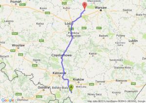 Sucha Beskidzka (małopolskie) - Sochaczew (mazowieckie)
