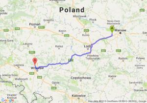 Trasa Błonie - Pęgów