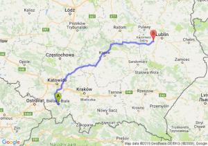 Trasa Bielsko-Biała - Bełżyce