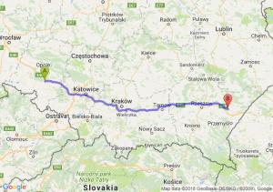 Trasa Krapkowice - Jarosław