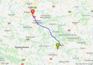 Trasa Chęciny - Tuszyn