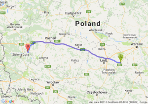 Trasa Rawa Mazowiecka - Kargowa