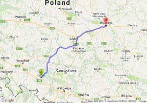 Opole (opolskie) - Warszawa (mazowieckie)