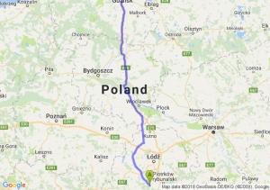 Bełchatów - Pruszcz Gdański