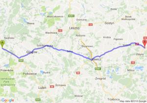 Nowe Miasteczko (lubuskie) - Krotoszyn (wielkopolskie)