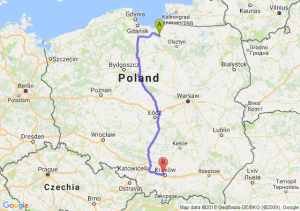 Trasa Pasłęk - Rząska