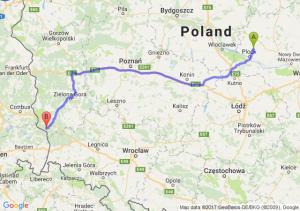 Trasa Bielsk - Przewóz