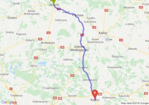 Trasa Jarocin - Kępno