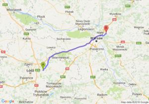 Trasa Brzeziny - Wołomin